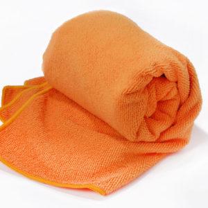 ręcznik frotte szybkoschnący (pomarańczowy, rozmiar L) (2)