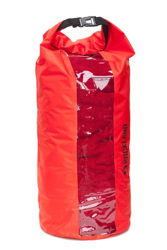 worek wodoszczelny Ultralight Window (czerwony, 20l) NEW (1)