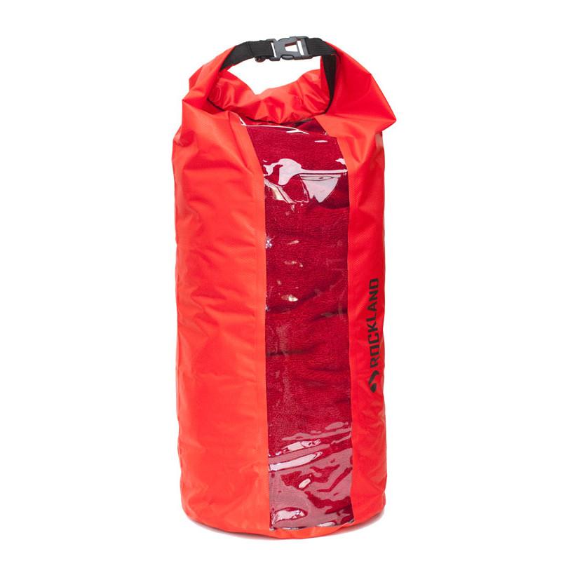 worek wodoszczelny Ultralight Window (czerwony, 20l) NEW (1)scal