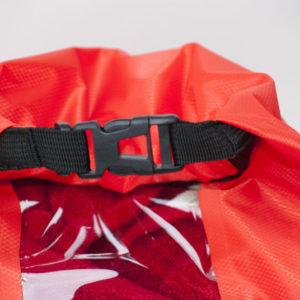 worek wodoszczelny Ultralight Window (czerwony, 20l) NEW (3)