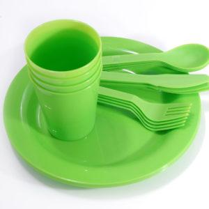 zestaw naczyń Piknik Plus (4)